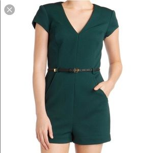 Ted Baker Romper- Forest Green.  Size 2